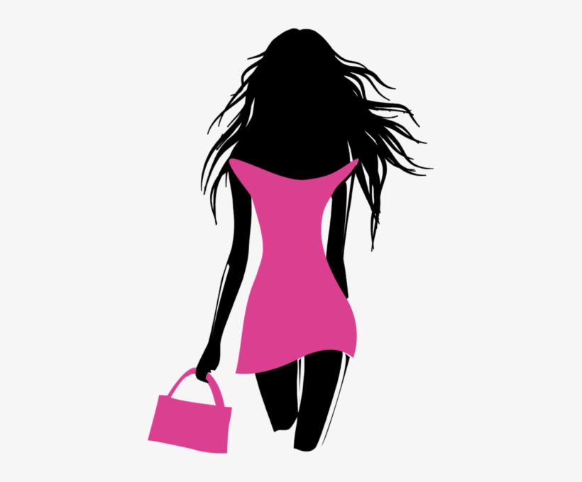 Fashion Model Silhouette Png Clipart Library Stock Fashion Model Logo Png 403x600 Png Download Pngkit