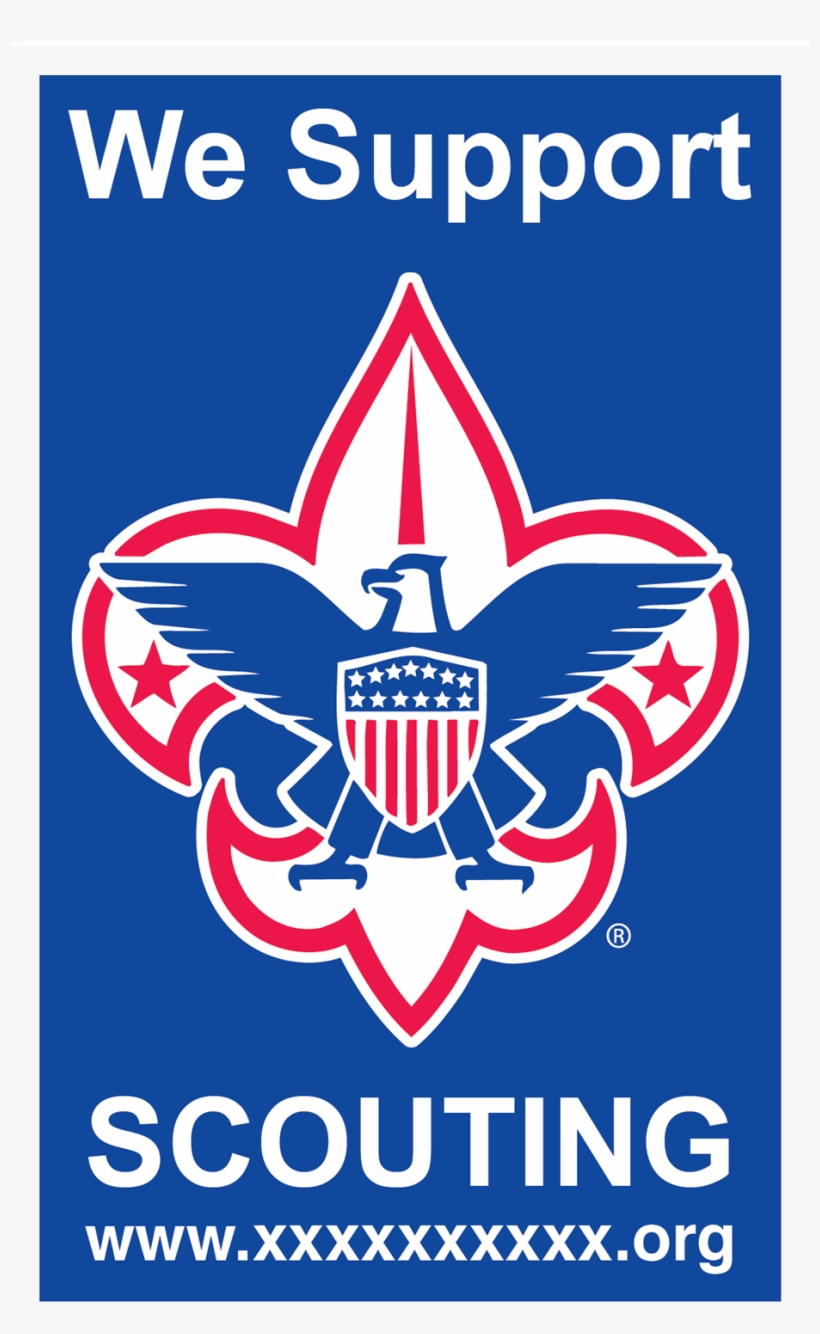 Boy Scouts Of America Decal - Bsa Scout Me In Logo