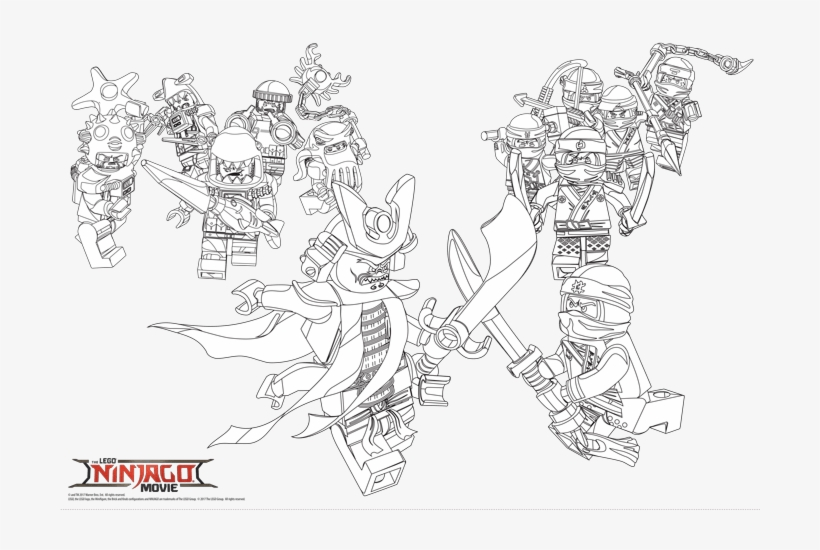 Print The Ninjago Coloring Pages Here - Lego Ninjago Movie Coloring Pages -  700x470 PNG Download - PNGkit