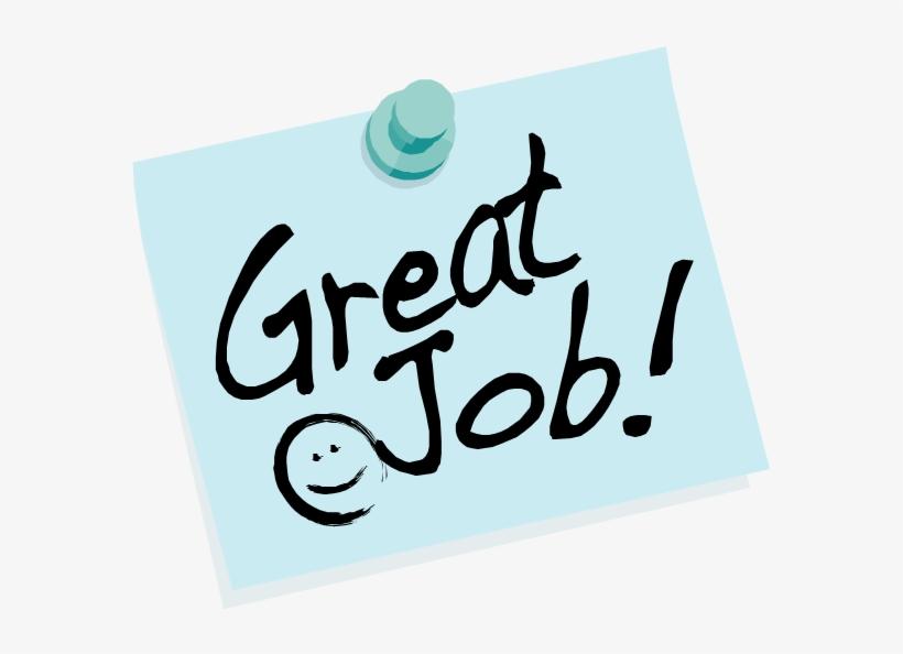 Nice Work Png Pluspng Great Job 580x514 Png Download Pngkit