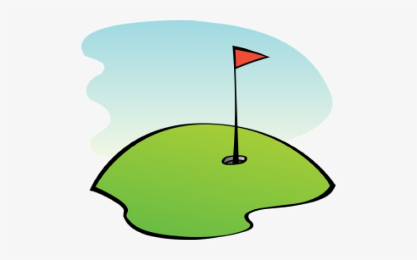 Golf Golf Course Golfing Lawn Green Golf Course Clipart 394x340 Png Download Pngkit