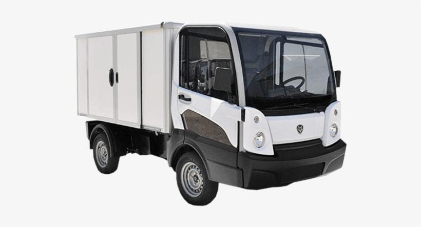 Hybrid Box Van Vehicle