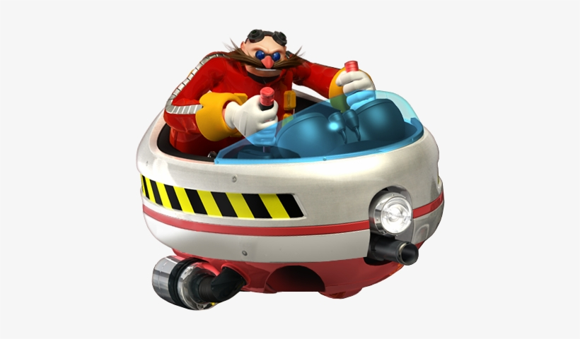 Dr Eggman Dr Eggman In Vehicle 531x465 Png Download Pngkit