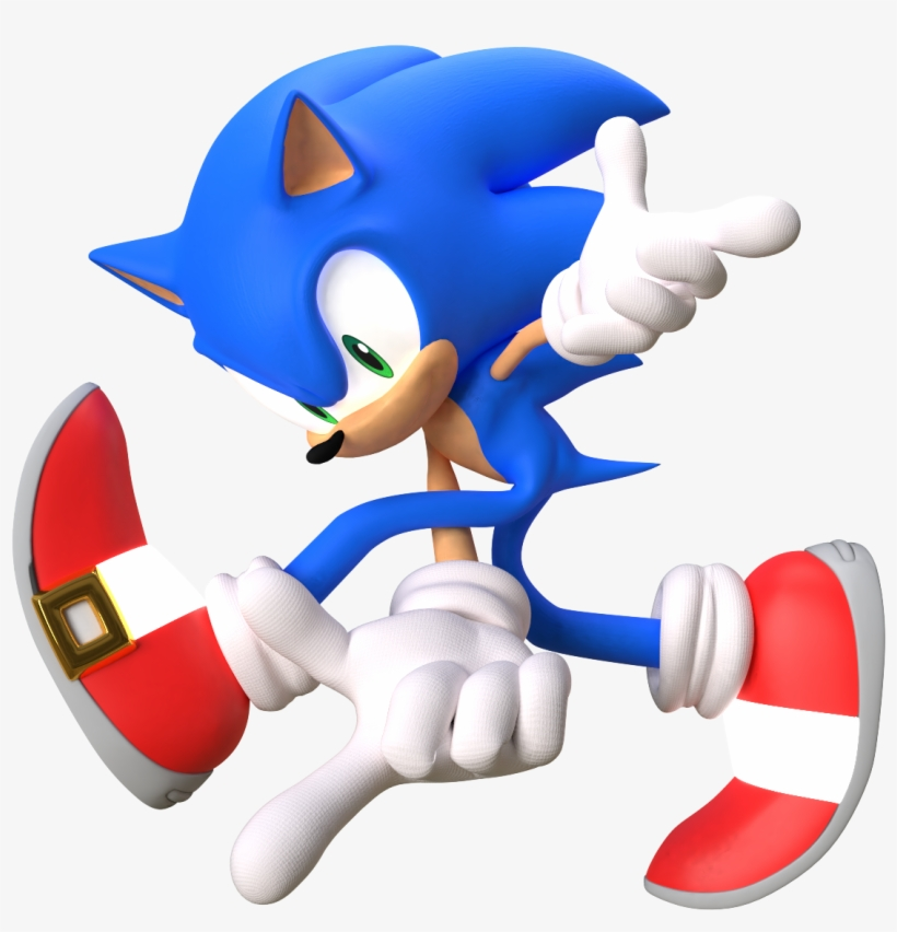Sonic Adventure Pose Sonic The Hedgehog 2112x1188 Png Download Pngkit
