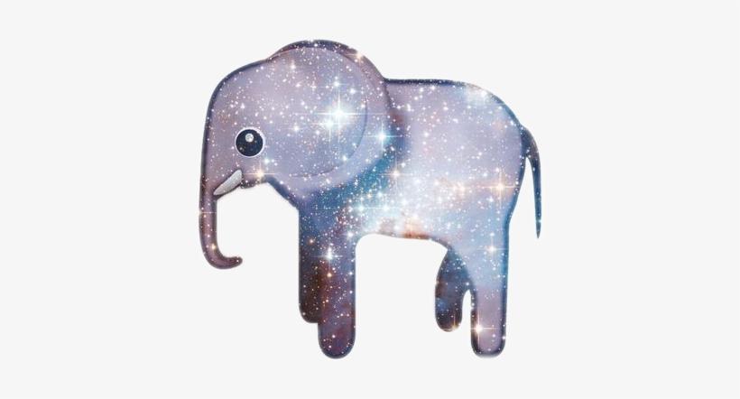 Emoji Galaxy Elephant Star Grey Swag Nice Love Cute Healing