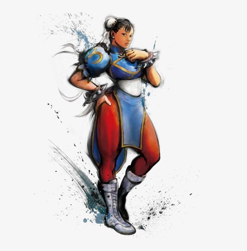 Chun Li Street Fighter 5 Png Street Fighter Art Style 613x751