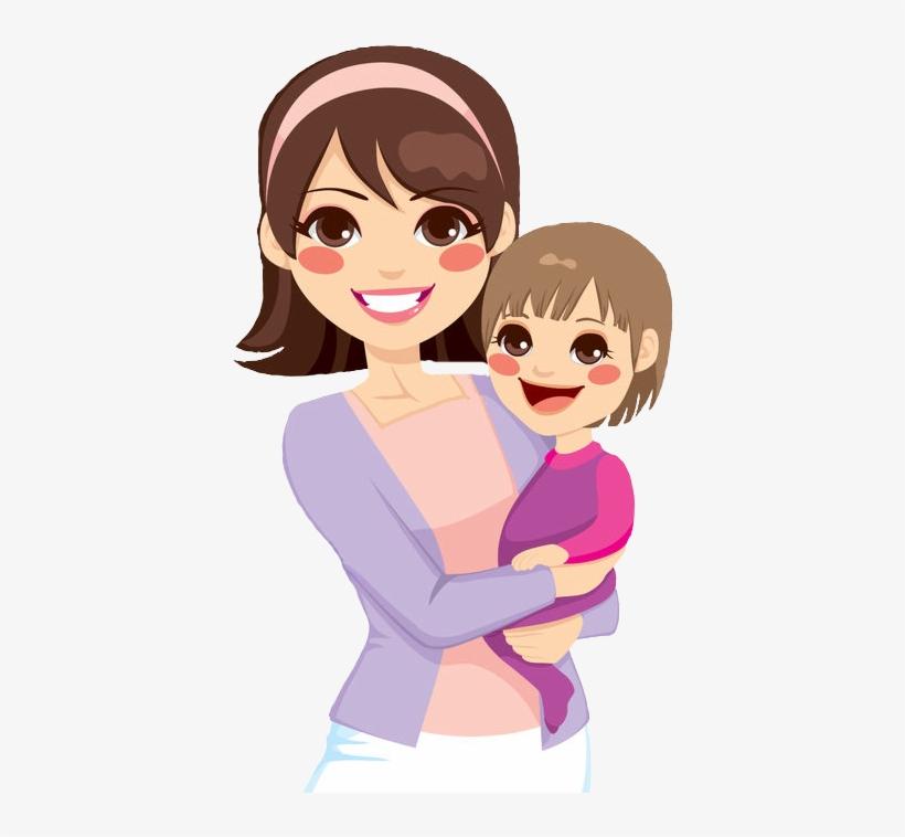Cartoon Mom Png - Mother Cartoon Transparent - 470x692 PNG ...