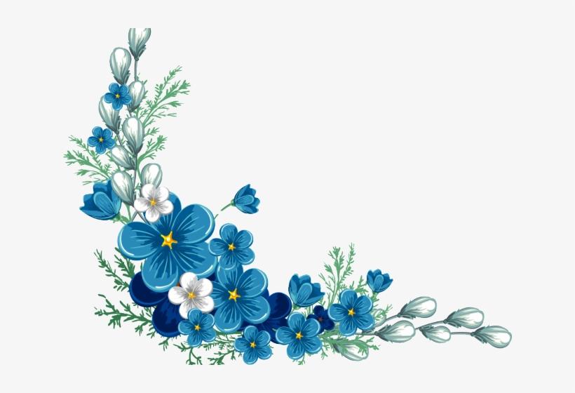 Flowers Borders Png Transparent Images