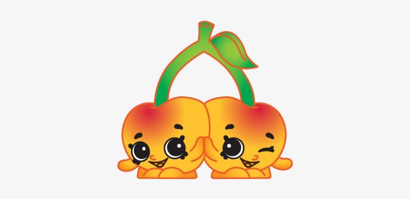 Peas Drawing Shopkin Frutas Divertidas Desenho Em Png 400x400