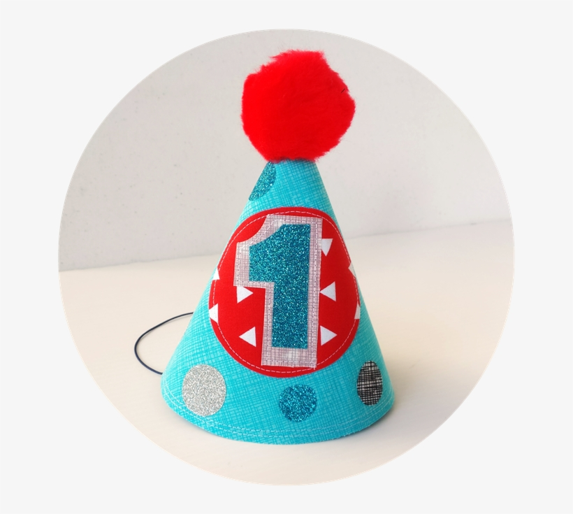Baby Boys First Birthday Party Hat