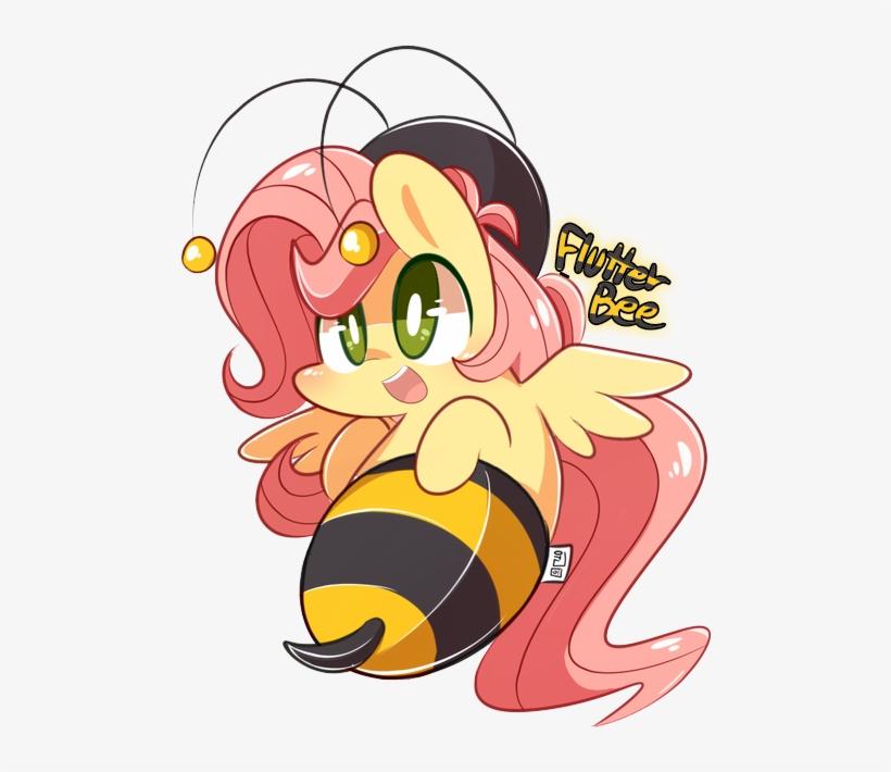 Php56 Bee Cute Edit Flutterbee Fluttershy Open My Little Pony Friendship Is Magic 600x676 Png Download Pngkit