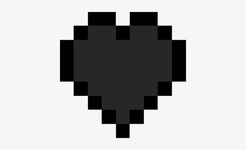 Minecraft Heart Png Minecraft Heart Black And White 420x420 Png Download Pngkit