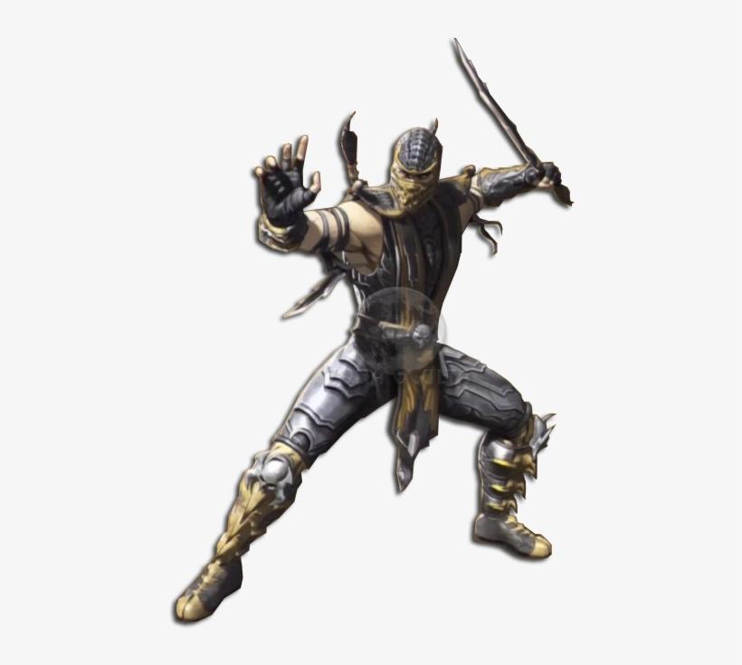 Scorpion Sub Zero Mortal Kombat Legacy Mk9 514x702 Png