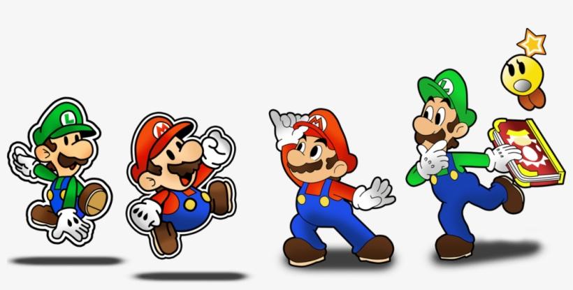 Dash Jump And Glide Into Mario And Luigi Paper Jam