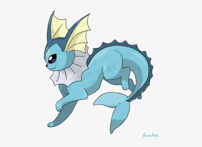 Photo Dessin De Pokemon Aquali 530x549 Png Download Pngkit