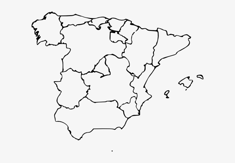 Map Of Spain Download Free.Free Vector Map Of Spain Clip Art Blank Map Of Spain States