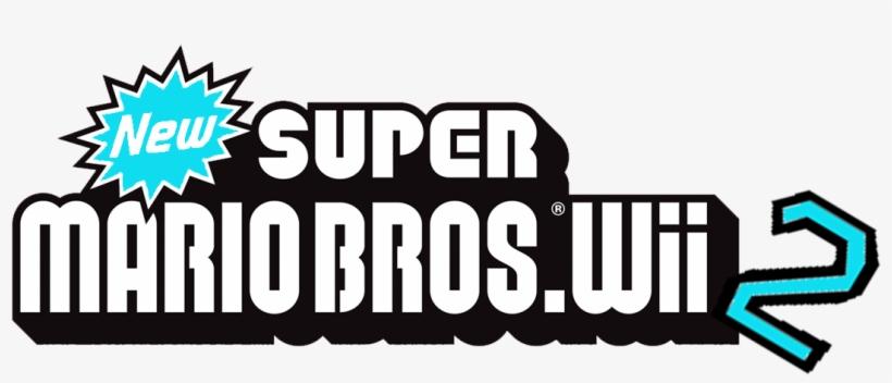 New Super Mario Bros Wii 2 New Super Mario Bros Wii Japan Logo