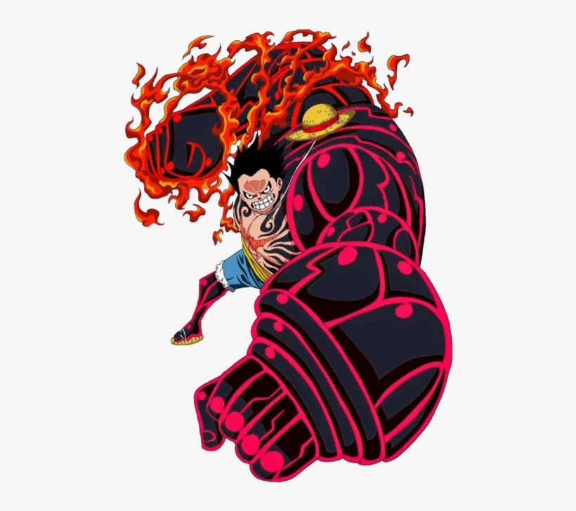 Luffy Gear 4 Png One Piece Luffy Gear 4 478x654 Png Download Pngkit