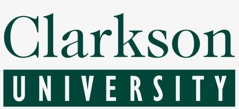 Clarkson Lg Logo - Clarkson University Logo - 1000x410 PNG