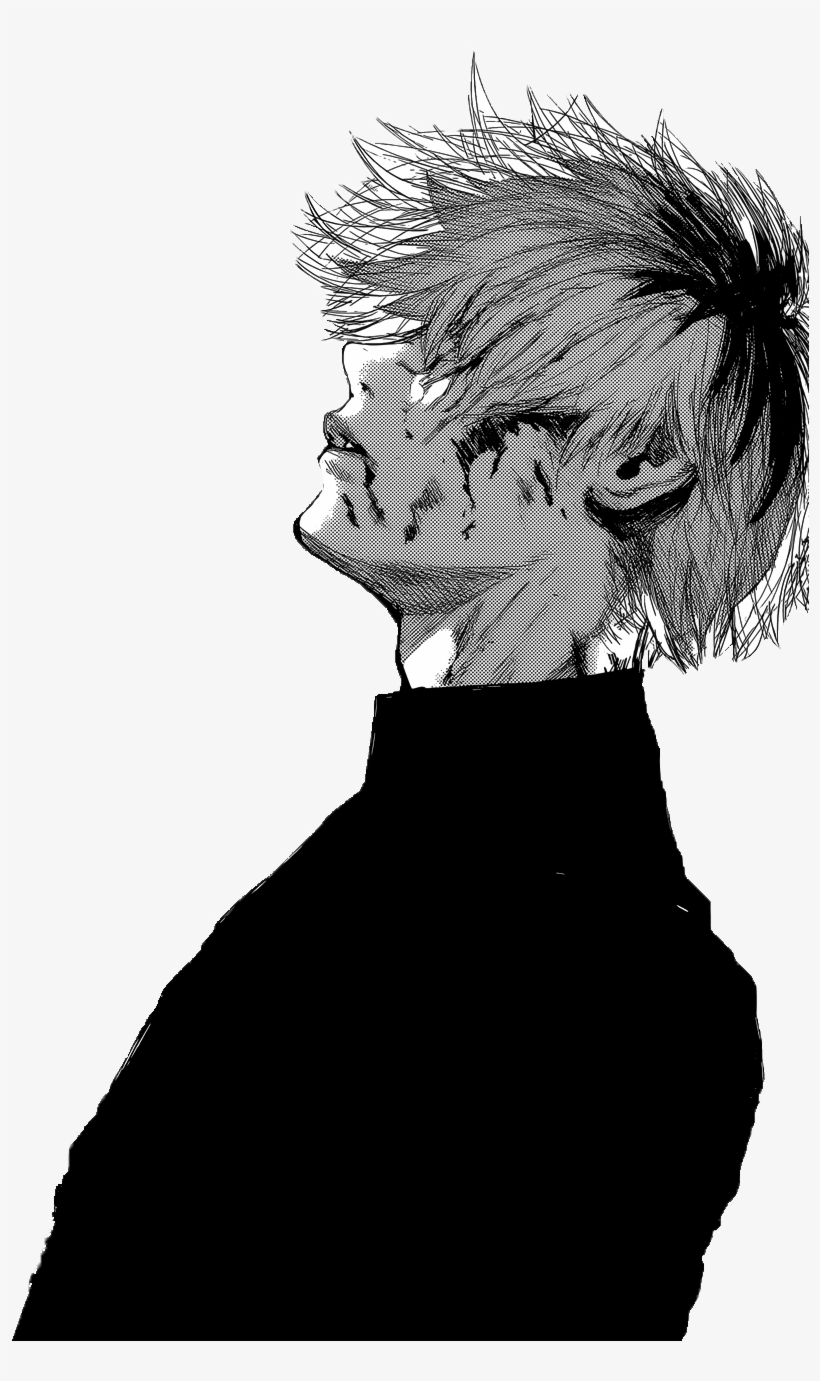 Manga Books Manga Art Manga Anime Kaneki Ken Drawing Ken Kaneki Black And White 894x1300 Png Download Pngkit