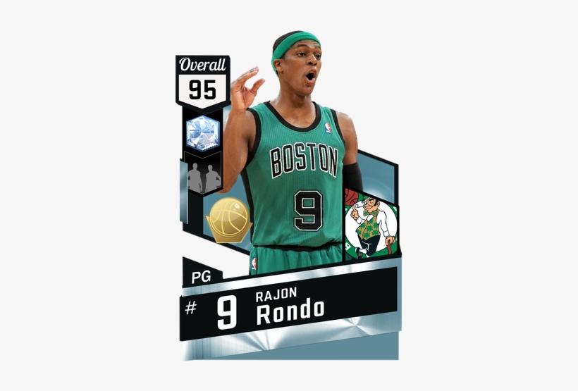 b31f4294af7 12 Rajon Rondo Diamond Card - Nba 2k Gilbert Arenas - 325x475 PNG ...