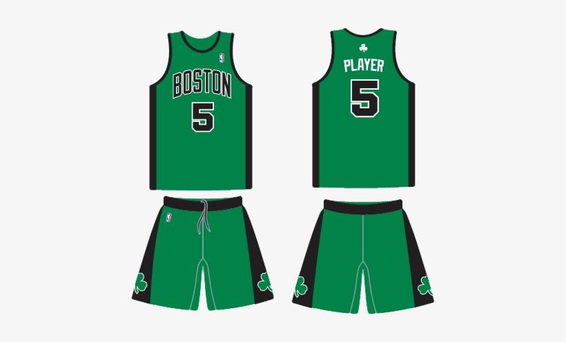 Bos 3053 Kg Boston Celtics Jersey Design Black 440x416 Png Download Pngkit