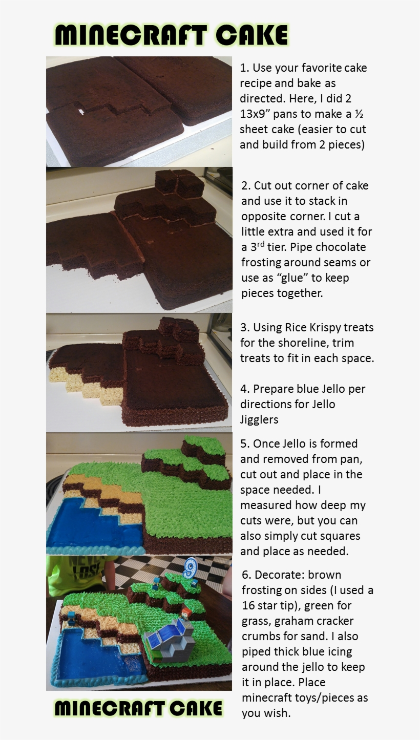 Miraculous Minecraft Birthday Cake Minecraft Cupcakes Easy Minecraft Funny Birthday Cards Online Fluifree Goldxyz