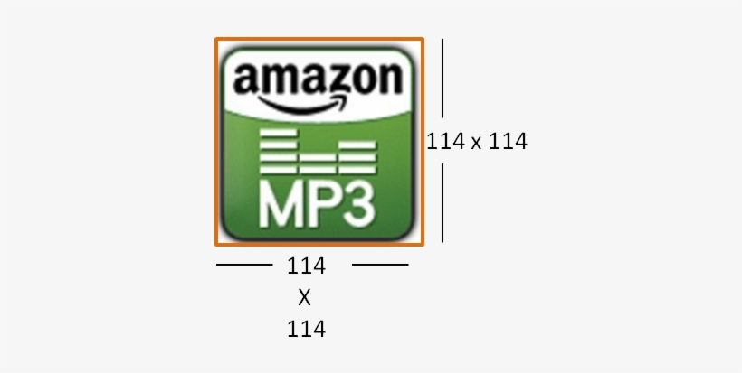 Mp3 Icon Do - Amazon Mp3 - 367x351 PNG Download - PNGkit