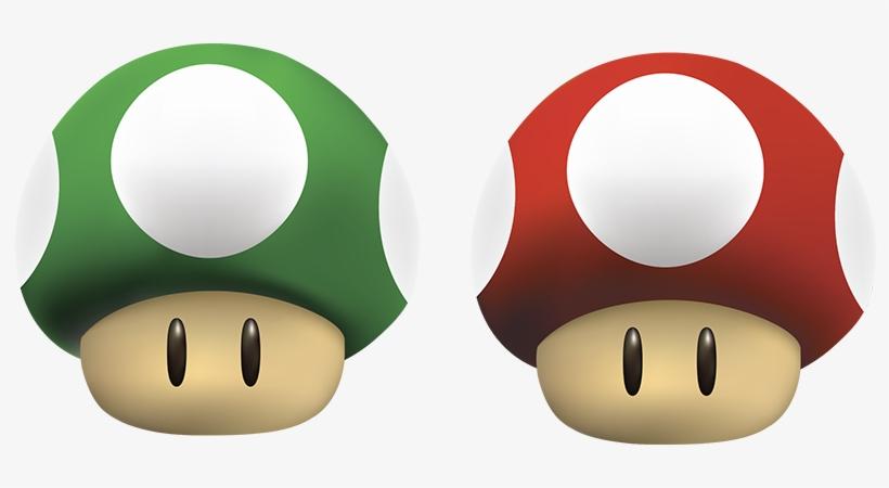 Hongos De Mario Bros Super Mario Mushroom 800x370 Png Download