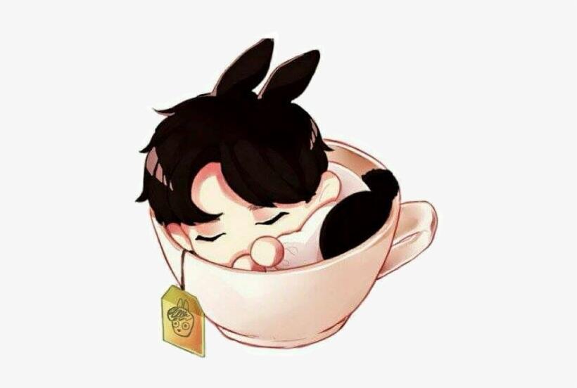 Png Cute Chibi Bunny Jungkookie Jungkookbts Bts Bangtan Jungkook