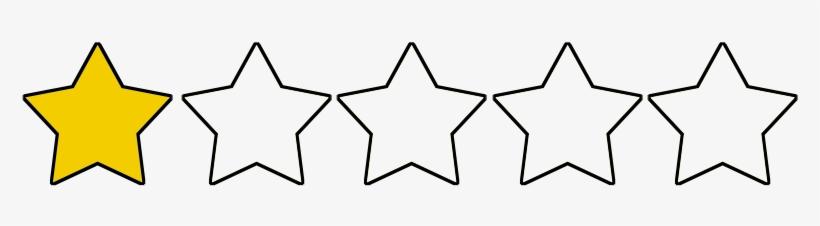 1 Star Rating Transparent 836x220 Png Download Pngkit