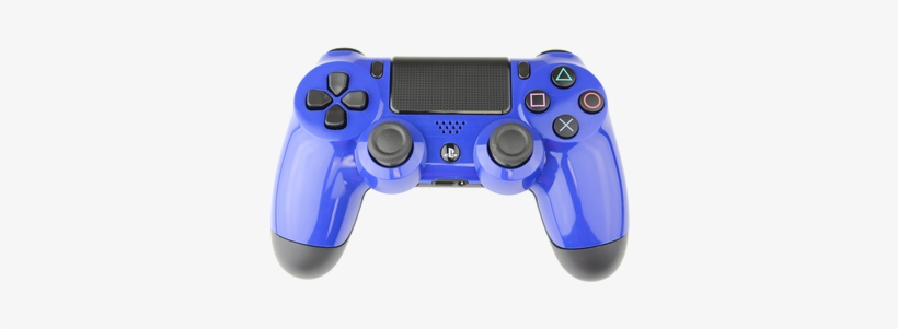 Blue Playstation 4 Controller Blue Ps4 Transparent Background 386x386 Png Download Pngkit