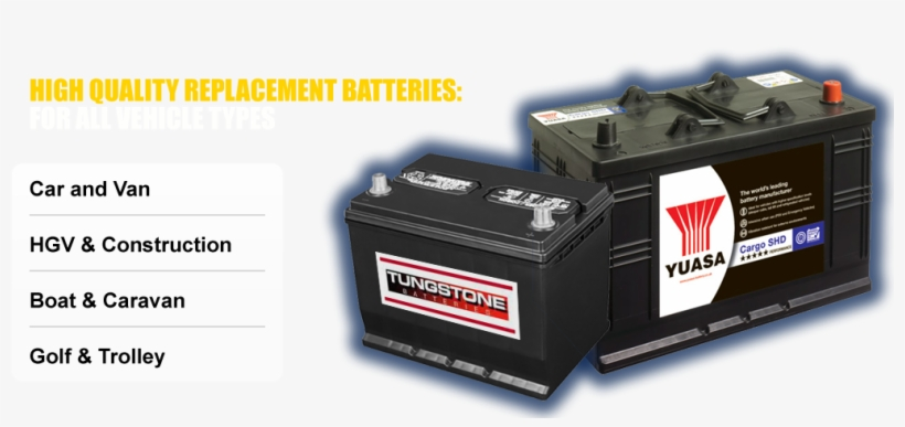 Car Batteries Bangor Van Boat Caravan Yuasa Deep Cycle Leisure Battery 12v 100amp Collection