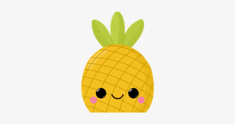 Watercolour Fruit Clipart Source - Cute Pineapple Png ...