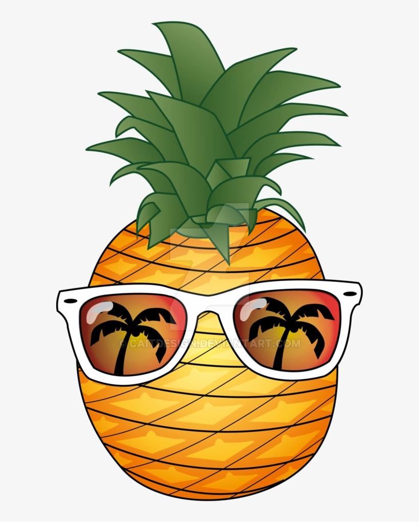 Pineapple Summer By Caitdesign On Deviantart Vector ...