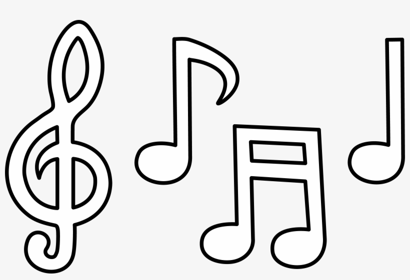 - Clip Library Library Free Printable Note Coloring Pages - Colour In Music  Notes - 5355x3407 PNG Download - PNGkit