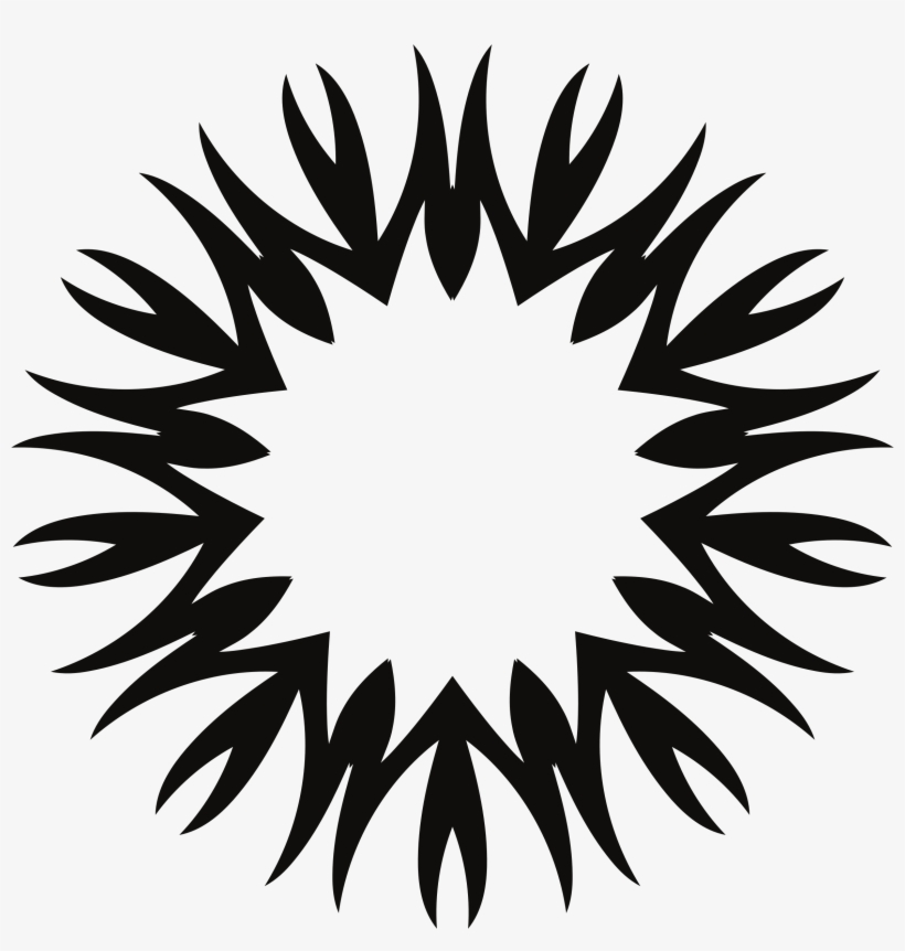 28 Collection Of Sun Clipart Png Black And White Black Sun Png