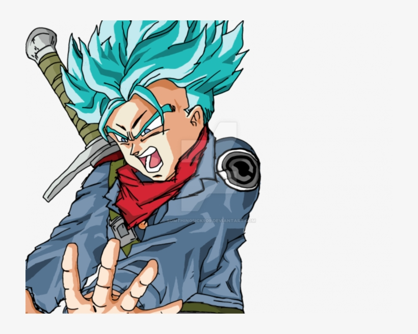 Related Wallpapers Dragon Ball Z Trunks 720x575 Png Download Pngkit