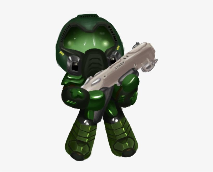 Fushigifoxfire Little Doom Slayer Is Here To Destroy Action