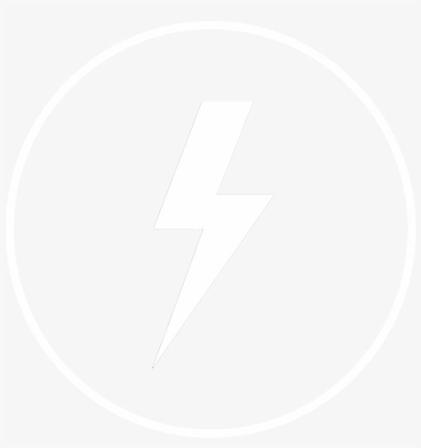 Lightning Icon White Internet Icon Png 1000x1000 Png Download Pngkit