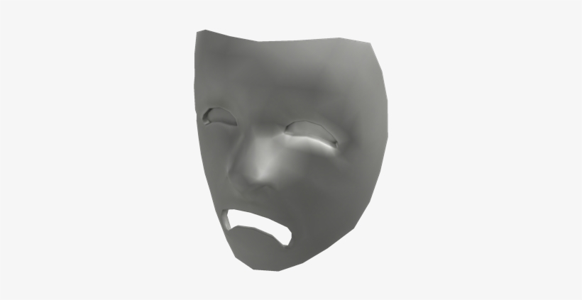 Tragedy Roblox White Mask 420x420 Png Download Pngkit