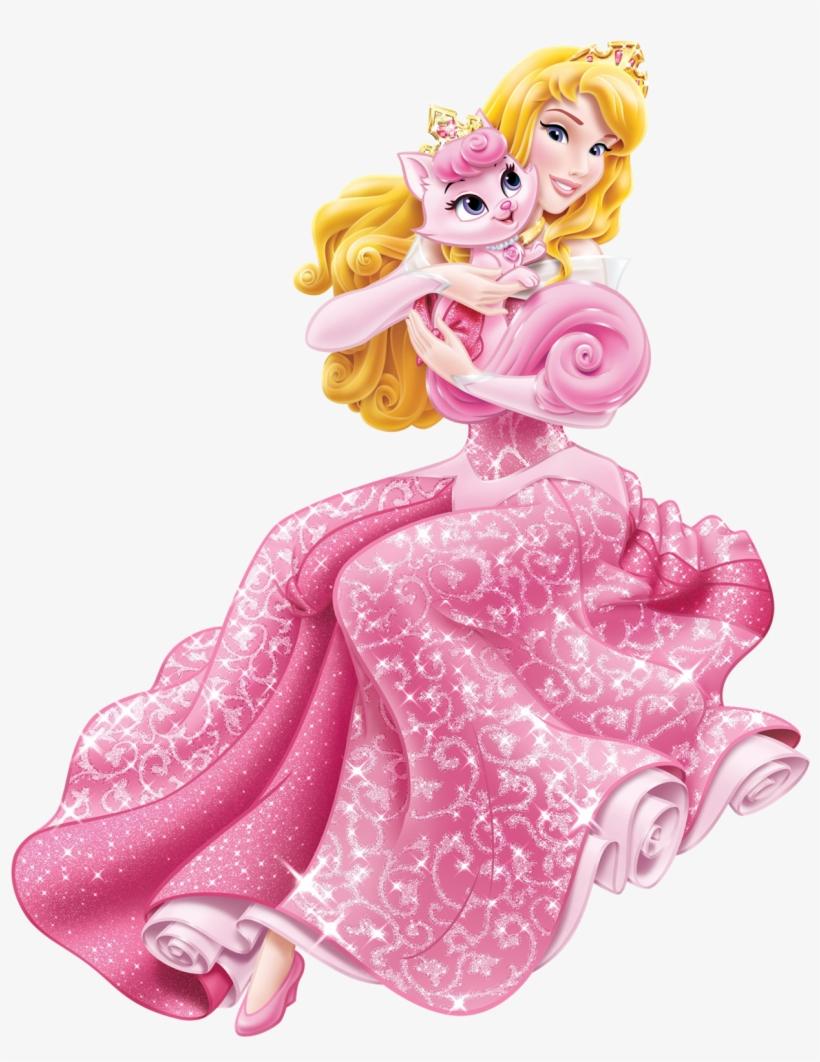 Cartoon Characters Png Download - Disney Princess Palace Pets Aurora