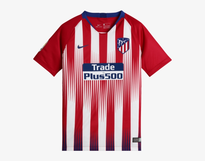 4f16ff179fe Official Atletico Madrid 2018-19 Jersey - Atletico Madrid 2018 19 ...