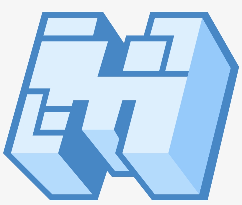 Minecraft Logo Blue Icon Minecraft Logo Icon 1600x1600 Png