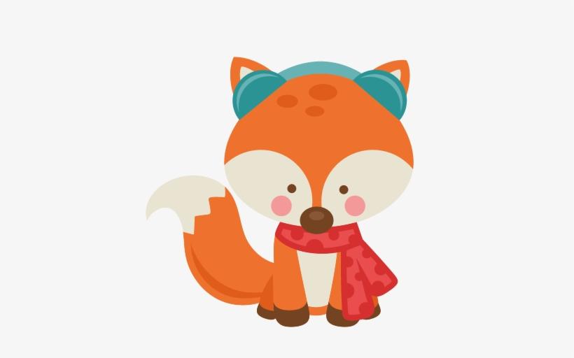 Fox Clipart Cute Winter Clip Art Winter Fox 432x432 Png Download Pngkit