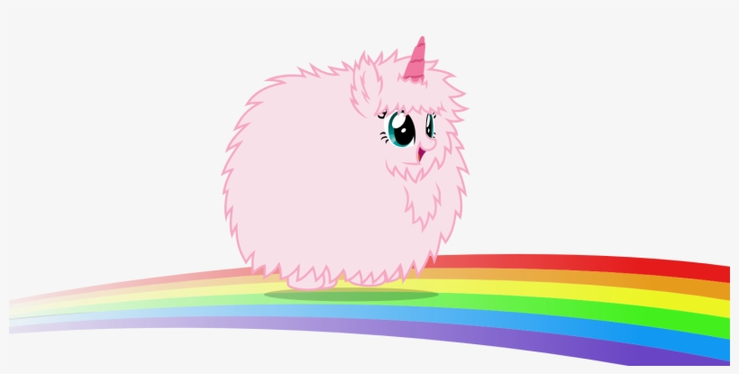 pink fluffy unicorns dancing on rainbows gif