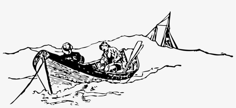 Fishing Boat Clipart Nelayan Fisherman Clip Art 2400x988 Png