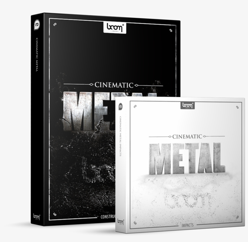 Cinematic Metal Sound Effects Library Product Box - Sound Ideas