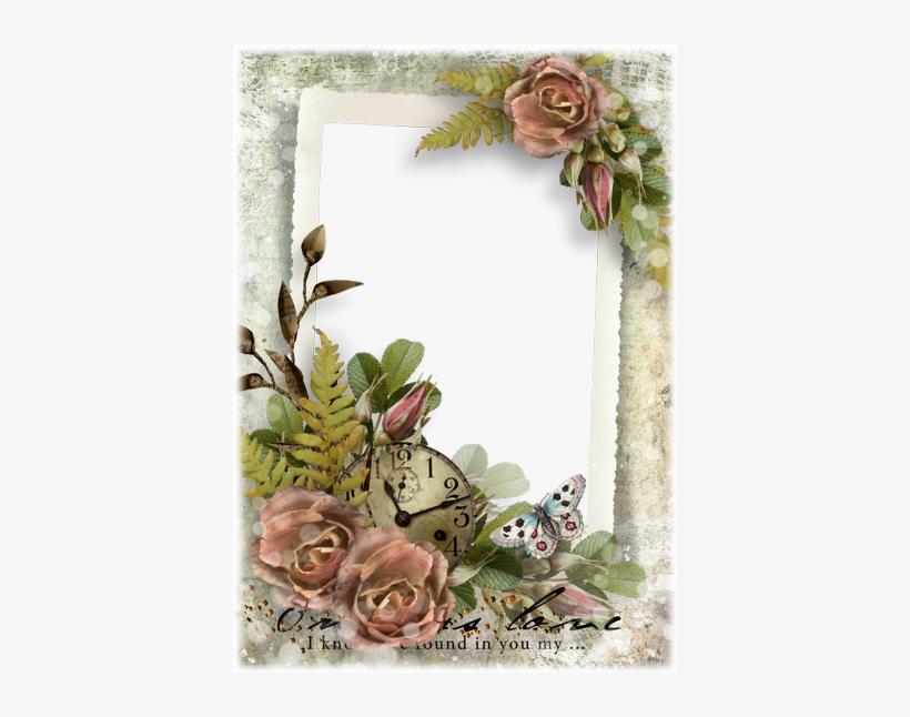 Beautiful Flower Frames Png