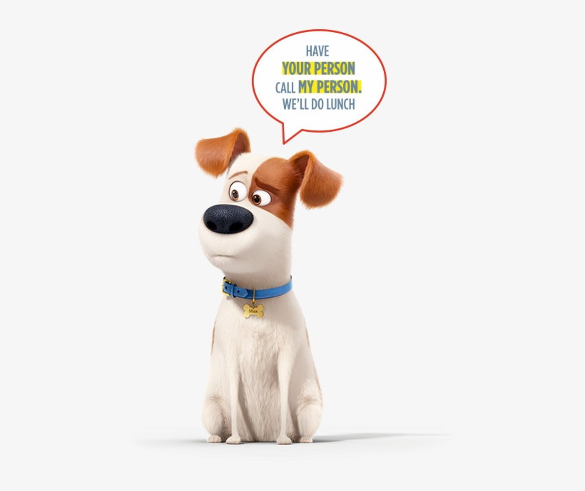 Cutemax Secret Life Of Pets Characters Max 549x608 Png Download Pngkit